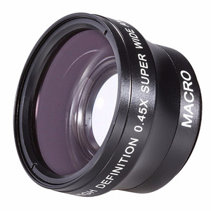 Image 3 - 0.45X Super Wide Angle Lens w/ Macro for Olympus E PL10 E PL9 E PL8 E PL7 E PL6 E PL5 E PL3 E PM2 E PM1 with 14 42mm Lens Camera