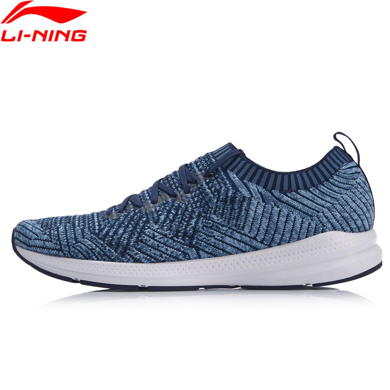 Li Ning Men REACTOR V2 Running Shoes Light Weight Durable Fitness LiNing Breathable Sport Shoes Sneakers