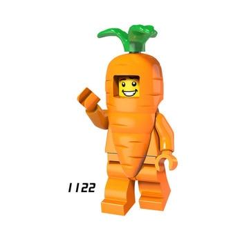 Single Sale Super Heroes Star Wars 1122 Carrot man Model Building Blocks Figure Bricks Toys kids gifts Compatible Legoed Ninjaed