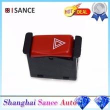 ISANCE аварийный светильник переключатель мигалки 0008209010 для Mercedes-Benz R107 W123 W126 W201 380SL 240D 300SE 420SEL 190E 190D