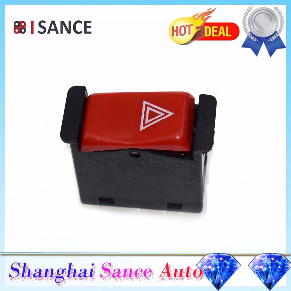 Isance Emergency Hazard Light Flasher Switch 0008209010 For Mercedes 380sl Fuel Filter Benz R107 W123 W126 W201 240d 300se 420sel 190e 190d In Car Switches Relays