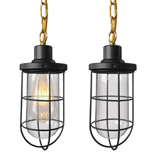 цена Retro Single Head Glass LED Pendant Lamp Creative bullet style Pendant Light Restaurant Hanging Lamp For Living Room Bar Bedroom онлайн в 2017 году