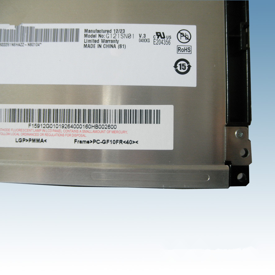 G121SN01 V3s 12.1 inch LCD G121SN01V.3 LCD display industry