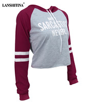 Film Speed Sell Through Amazon Sells Fashion Printed Letters Long Sleeve Nut Draw String Plus Velvet