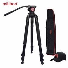 лучшая цена 2017 miliboo MTT701A tripod 2035mm Aluminum alloy  Professional Camera  Tripod with  head Monopod  For DSLR camcoder