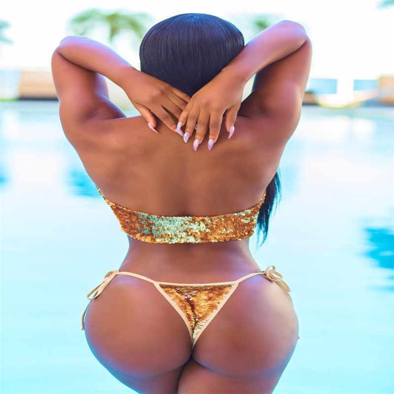 Bikini 2017 womens padded push-up bikini set sport swimsuit bathing gugatan swimwear beachwear