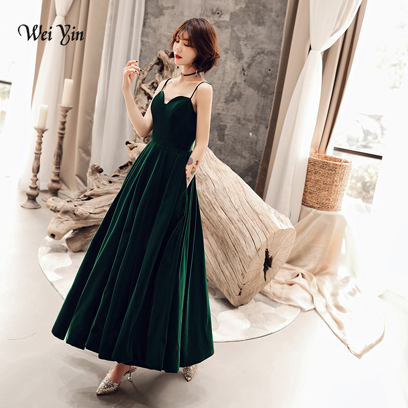 Cocktail Dresses Wei Yin Green Sequins Cocktail Dresses 2019 New Arrival Sexy V Neck Spaghetti Party Gown Bodycon Vestido Coctel Corto Wy1622 Save 50-70%