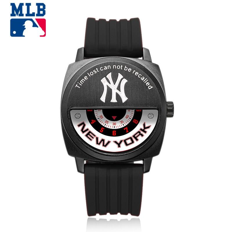 MLB Original Baseball Hero Series Street Fashion Quartz Wristwatch For Men and Women Creative Watch Sports Waterproof 50m franklin sports mlb youth shok wave batting gloves