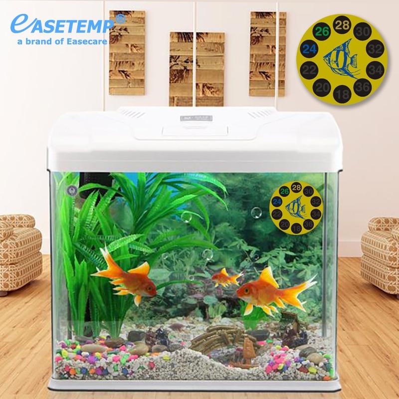 ᓂ10 unids/lote envío libre termómetro del acuario para el tanque de ...