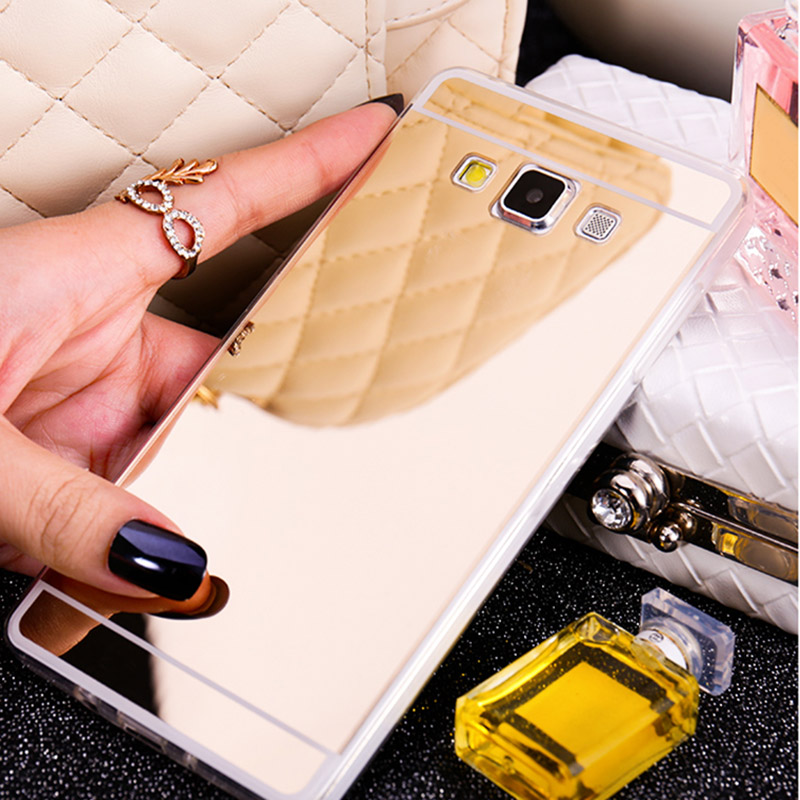 Color Mirror Soft TPU Phone Case For Samsung Galaxy Grand Prime core prime A8 A7 A5 A3 J1 J3 J5 J7 2015 2016 Silicon Cover coque