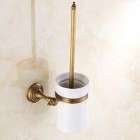 A1 European copper antique toilet brush toilet brush cup LO428330