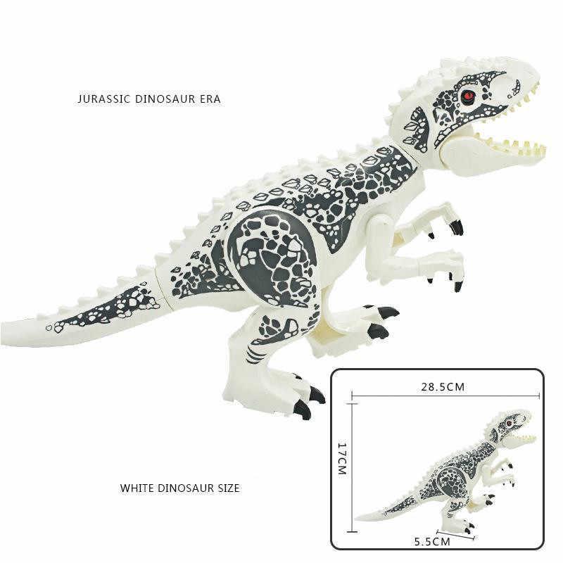 Динозавров Юрского периода мира 2 парки тираннозавров Рекс мир Юрского периода кирпичи рождественские детские игрушки juguetes Совместимость Legoings