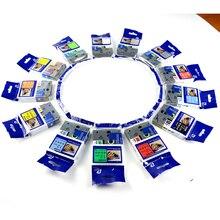 10PK Tze-231 tze231 TZ-231 tz231 Черный на белом р сенсорным 12mm x 8 m Ленточные стикеры Совместимость brother tze кассеты или смешивать цвета