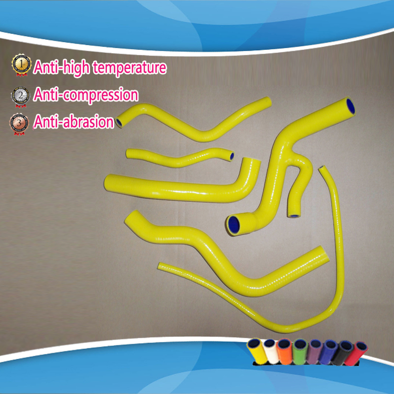 Motorcycle silicone radiator hose kit for Yamaha FZ6 FZ 6 Y36 2005 Engine Radiator Coolant Hoses for yamaha fz6 fz600 2004 2010 2005 2006 2008 2009 fz6n fz6s fz 6s fz 6n fz 600 motorcycle aluminium radiator cooling cooler