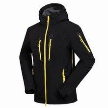 Autumn Waterproof Fleece Softshell Hiking Jackets Men Winter Trekking Camping Climbing Coat Outdoor Windproof Ski Jacket
