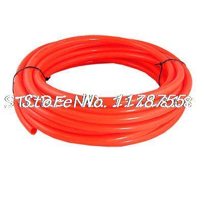 цена на 10M 32.8Ft 12mm x 8mm Pneumatic Air PU Hose Pipe Tube Orange Red