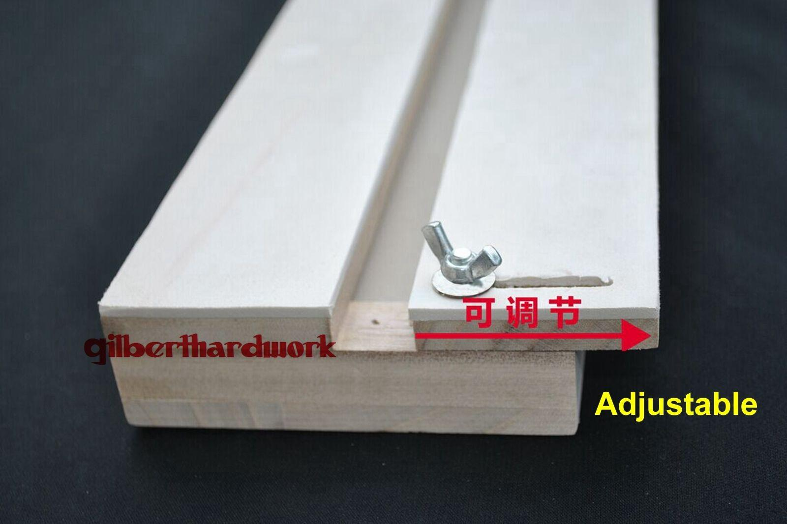 3mm EVA Adjustable Insects Butterfly Spreading Board Solid Wood 350*110*45mm