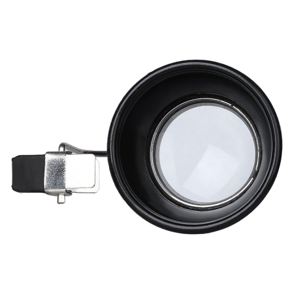 10X Clip On Eye Loupe Eyeglass Magnifying Glass Lens for Repair Work