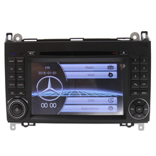 "New Auto Radio 7"" Touch Screen gps navigation For Mercedes B200 A B Class car dvd cd function Multimedia Steering Wheel Control"