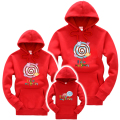 New Family Look Autumn Family Matching Clothes Long Sleeve Hoodies Mom & Dad & Son & Daughter Cartoon Outfits Spring Clothing