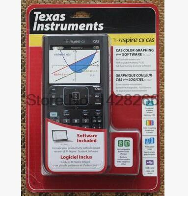2016 Direct Selling Led Led Calculator Usa Texas Instrumetns Ti Nspire Cx Cas Color Graphics Calculator English Sat/ap Special ...