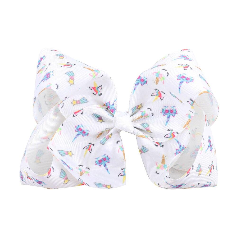 7 graffiti ribbon jojo bow hair