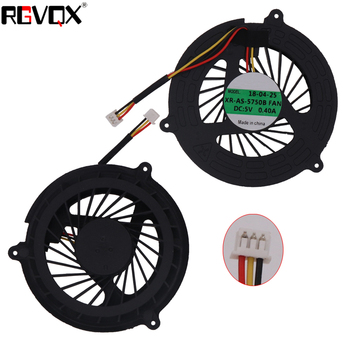 New Laptop Cooling Fan For Acer Aspire 5350 5750 5750G 5755 5755G P5WE0 V3-571G Round PN AD09005HX10G300 KSB06105HA CPU Cooler nokotion pn 1310a2184401 mb apq0b 001 mbapq0b001 for acer aspire 6920g laptop motherboard with graphics slot free cpu