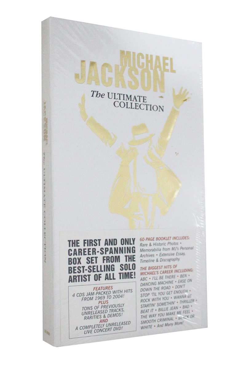 Michael jackson The Ultimate Collection 4CD+1DVD ...