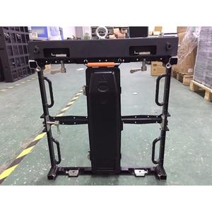 Image 4 - 500X500mm P 3,91 P 4,81mm led anzeige hängen bar druckguss aluminium hängen strahl