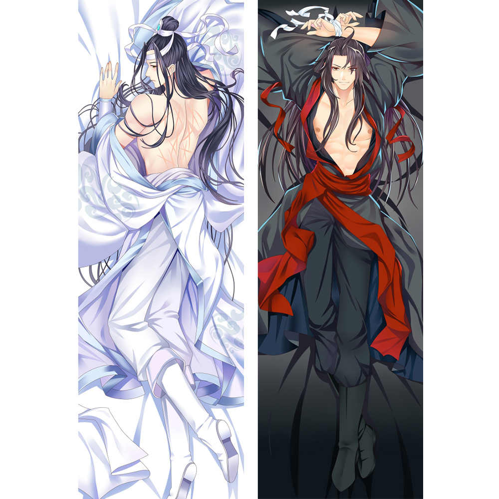 Anime Modaozushi anime dakimakura case 180cm long man character hugging pillow case
