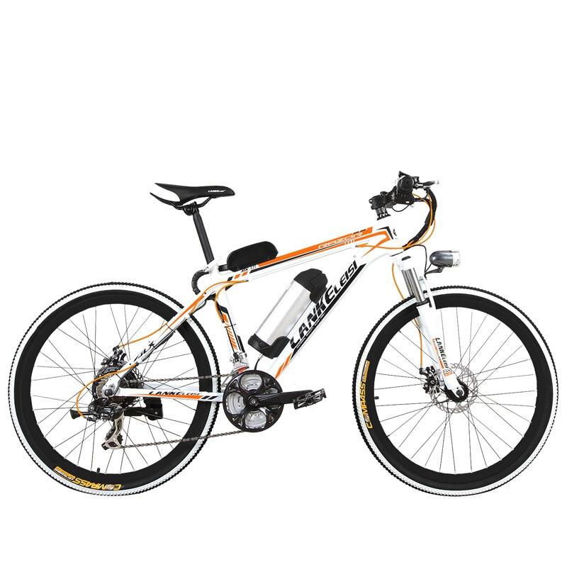 Lankeleisi MX3.8 Mans 21 Speeds Electric Bicycle 240Watt 48V Disc Brakes