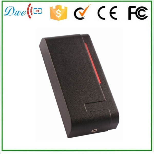 DWE CC RF 2017 hot sell 13.56mhz 12v WG 26 rfid outdoor tag reader for security access control system dwe cc rf 2017 hot sell 13 56mhz 12v wg 26 rfid outdoor tag reader for security access control system