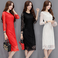 Maternity Nursing dresses Breast Clothes For Pregnant Women Feeding Clothing long-sleeve lace fashion leisure