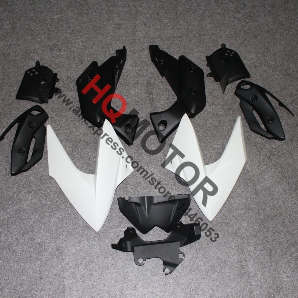 Motorcycle ABS Injection Bodywork Fairing Cowl Kit for Yamaha XJ6 2009 2010 2011 2012 for yamaha tmax530 2012 2014 plastic abs injection motorcycle fairing kit bodywork cowlings