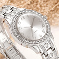 Comtex Brand Women Watches Silver Rhinestone Crystal Lady Dress Watch Analog Quartz Watches Relogio New fashion Diamond Orologio