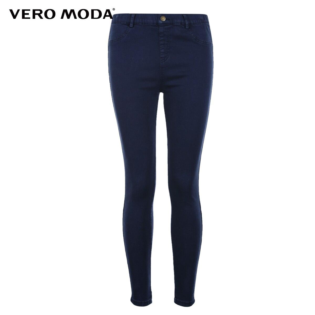 Vero Moda Slim wrap stretch denim pants Jeans Woman 316449501