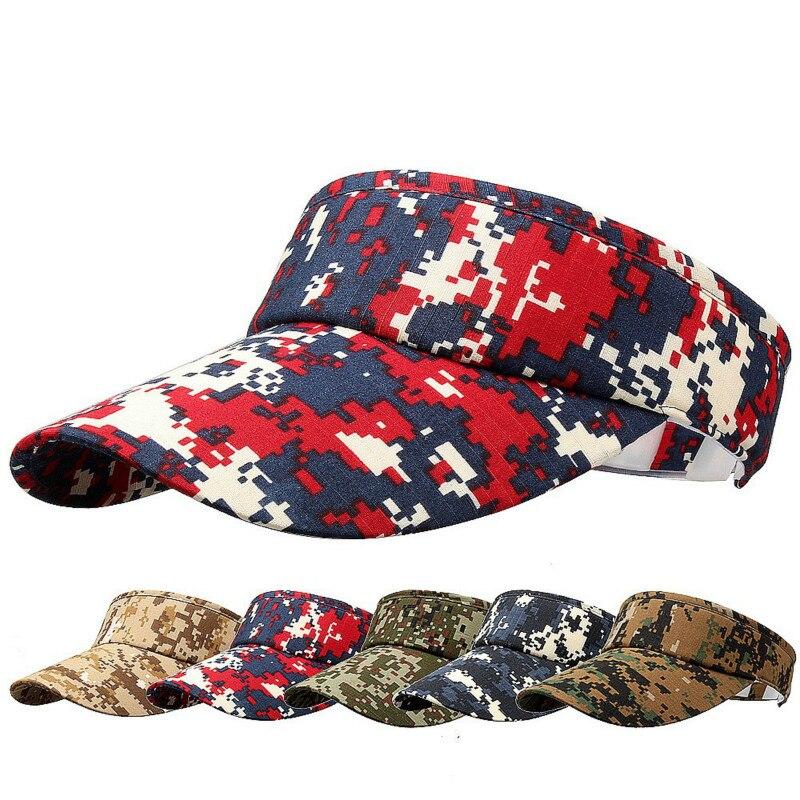 Headband Classic Sun Women Summer Sport Sports Visor Hat Cap Summer Female Hat Women's Dropshipping Camouflage Adjustable Men