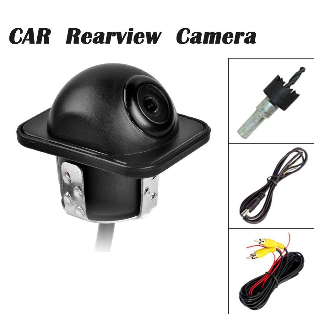 Best Price Universal Car Rear View Camera Reverse Parking Backup Camera 009M 170 Degree Angle CCD HD Water proof image
