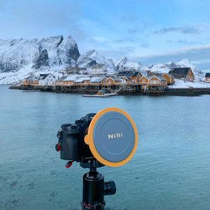 Image 2 - Kit de support de filtre Nisi V6 système 100mm avec filtre polarisant circulaire CPL 67 72 77 82mm bague adaptateur pour filtres carrés