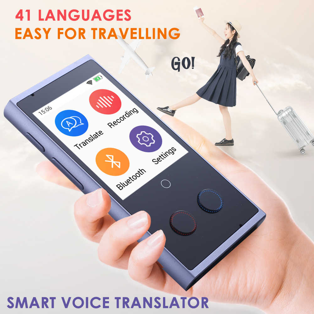 Translaty Voice Instant Translator 75 Smart Portable English Language Intelligent Voice Translators Simultaneous Machine Device