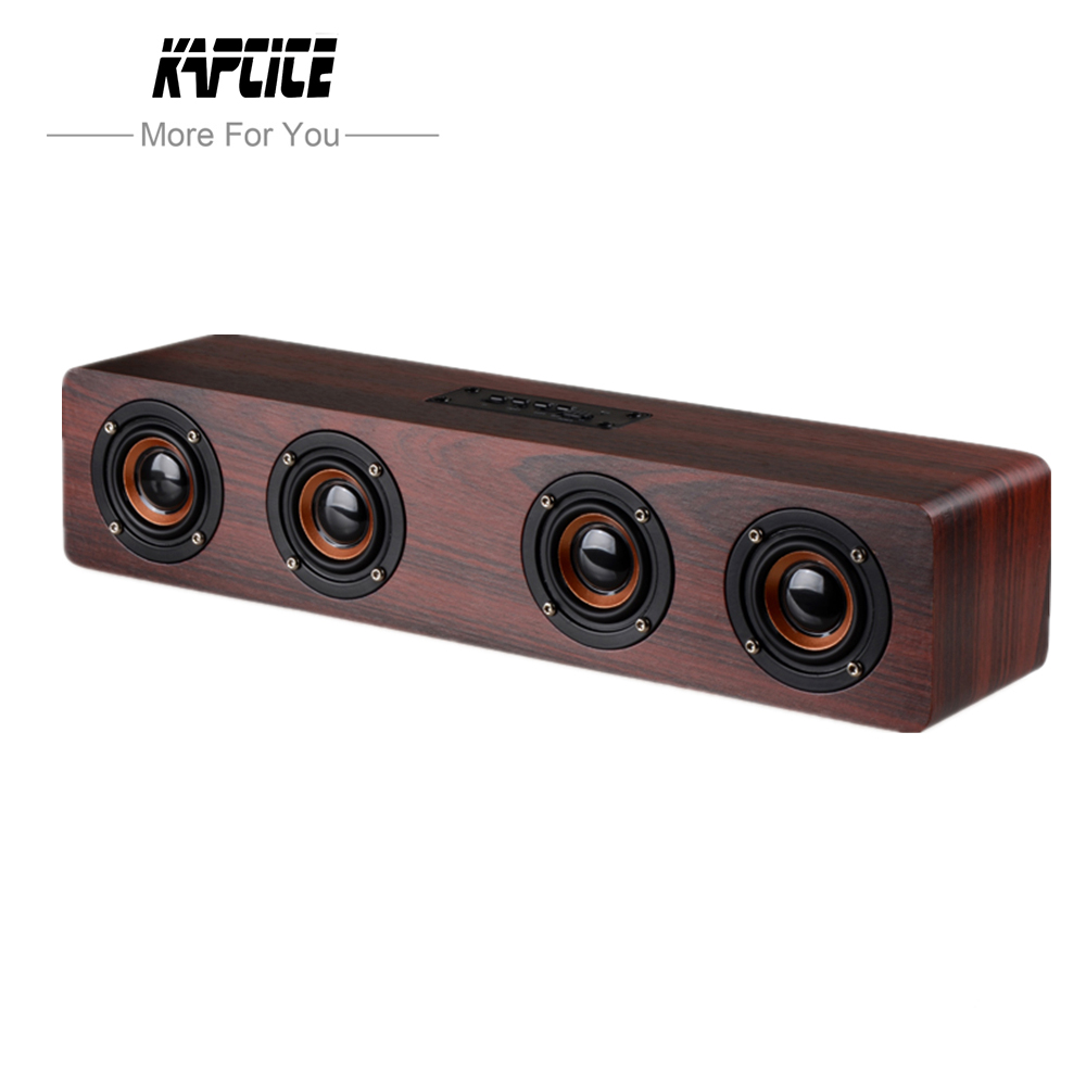 KAPCICE W8 Mini Bluetooth Speaker Portable Wireless Speaker Sound System 3D Stereo Muziek Surround Ondersteuning Bluetooth, TF AUX USB