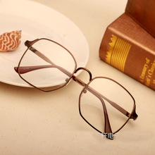 2016 Fashion Sexy Vintage Eye Glasses Frame Men Women Myopia Eyeglasses Alloy Optical Frame Plain Mirror Armacao De Oculos