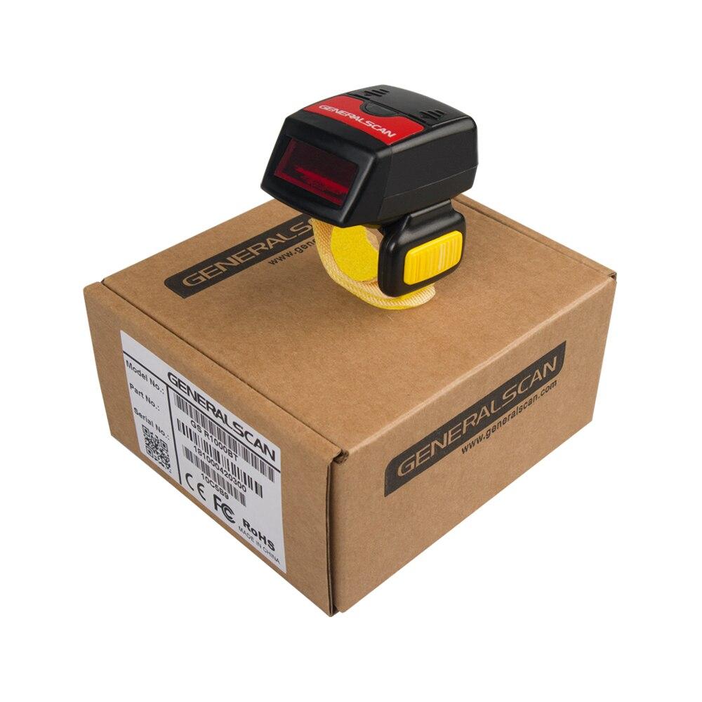 Generalscan GS r1000bt-hp (01) 1d Mini Bluetooth Беспроводной кольцо сканер штрих-кода для розничной/Склад/логистических