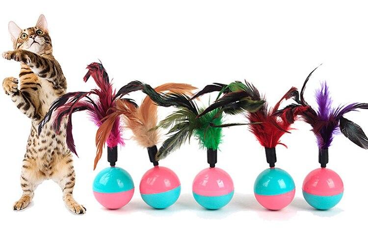 tumbler ball interactive cat toys