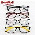 Chegada nova unisex frame ótico TR90 Coreia Do Projeto muito leve de aro cheio de óculos 6126