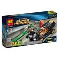 BELA 10227 Batman The Riddler Perseguir El Flash Super Heroes Bloques de Construcción compatibles Legoelieds Educación Juguetes