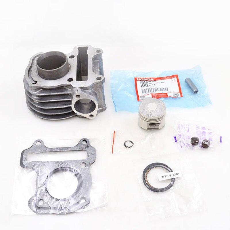 купить High Quality Motorcycle Cylinder Kit For Honda DIO50 DIO 50 TODAY50 TODAY 50 GFC50 GFC 50 50cc Engine Spare Parts по цене 3026.57 рублей