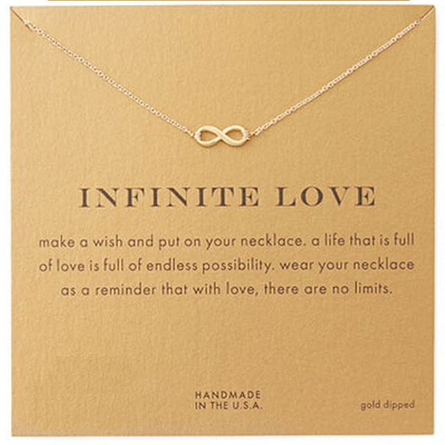 Girl fashion good luck infinite love necklace for women chokers girl fashion good luck infinite love necklace for women chokers necklaces aloadofball Images