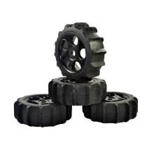 4pcs 1/8 Scale RC Crawler Off Road Buggy Snow Sand Paddle Wheels Tires for HSP HPI Truck Car 4pcs 1 8 rc off road buggy snow sand paddle tires tyre and wheels for 1 8 rc car