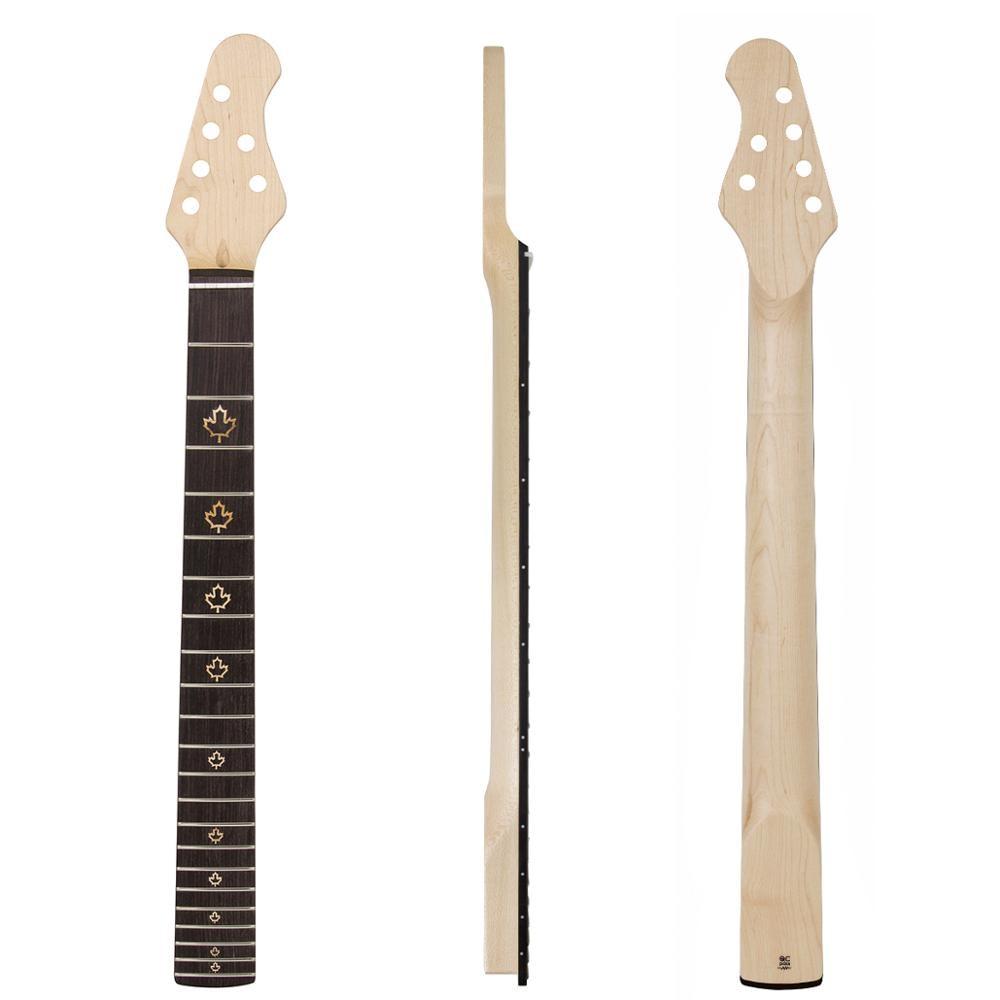 Kmise Электрогитара шеи Канадский кленовый 22 лада HPL гриф кленовый лист инкрустированные точки болт на C образной формы прозрачный Атлас|Детали и аксессуары для гитар|   | АлиЭкспресс